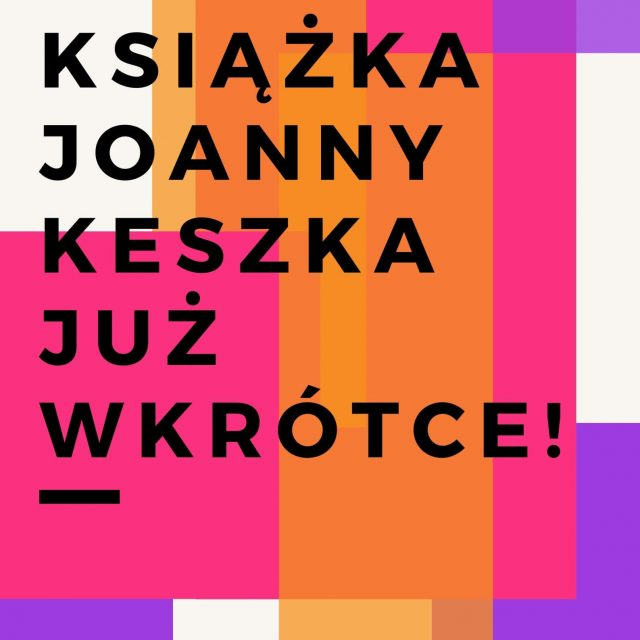 Nowa książka Joanny - już wkrótce